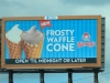Wendy's Frosty Waffle Cone Poster New Orleans